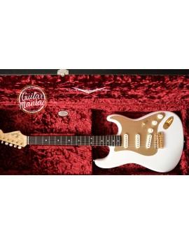 Fender Custom Shop Ltd edition 75th anniversary Stratocaster NOS RW diamond white pearl (LTD 75TH ANNIE STRAT - DWP)