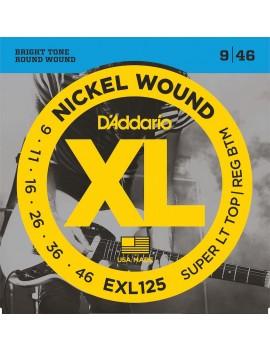 D'ADDARIO EXL125 Cordes...