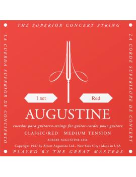 Augustine Rouge cordes nylon tirant medium