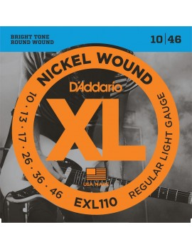 D'ADDARIO EXL110 Cordes...